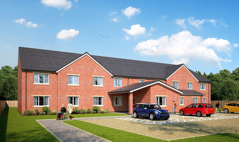 Queen Oaks Court Stoke on Trent Bucknall supported living