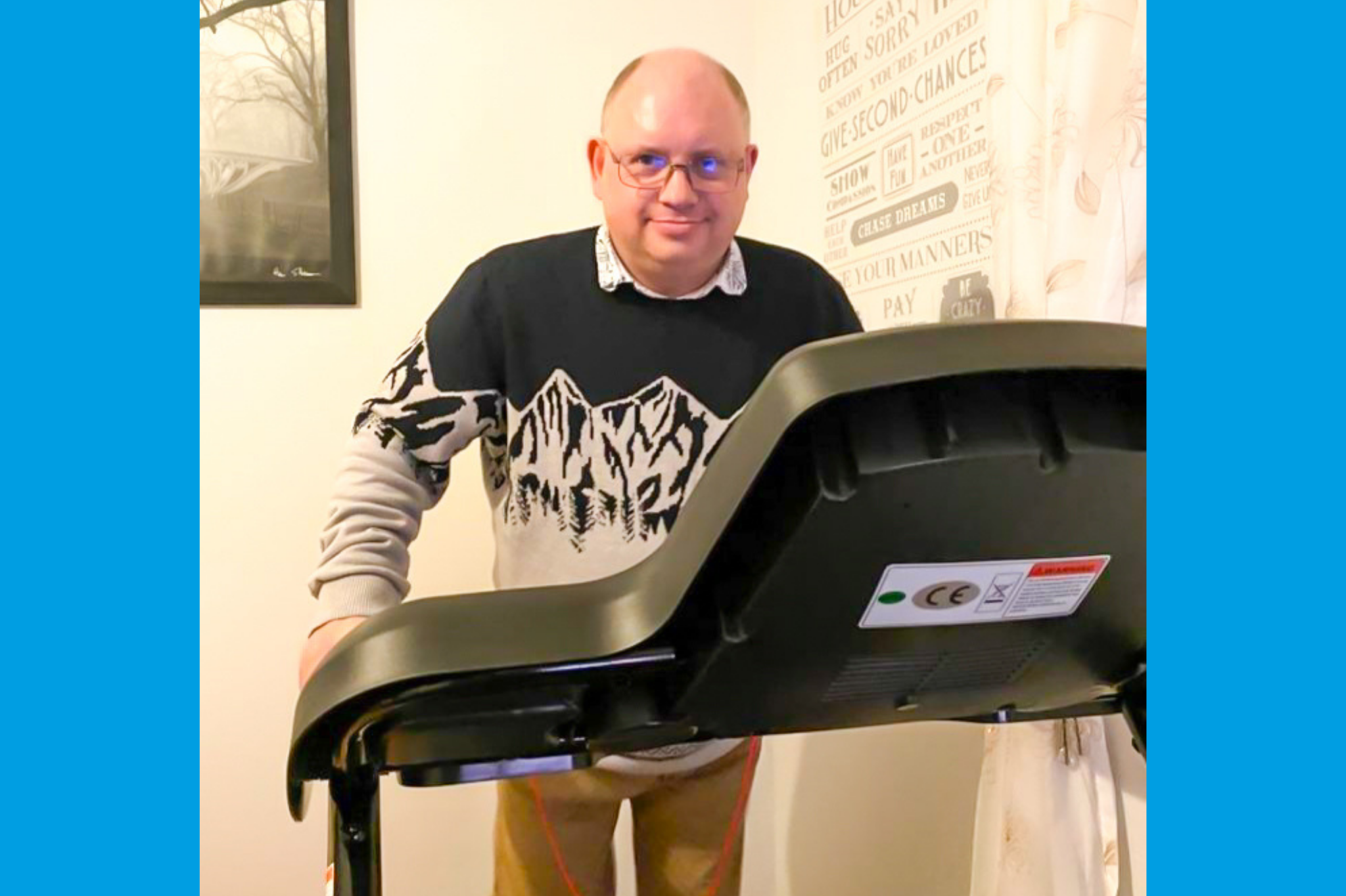brian diabetes treadmills beats liverpool