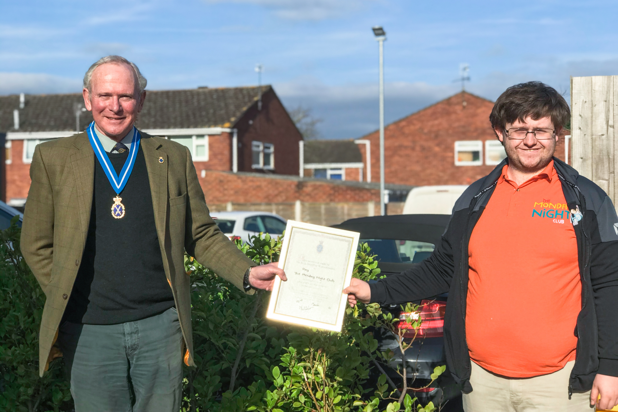 ray award worcestershire