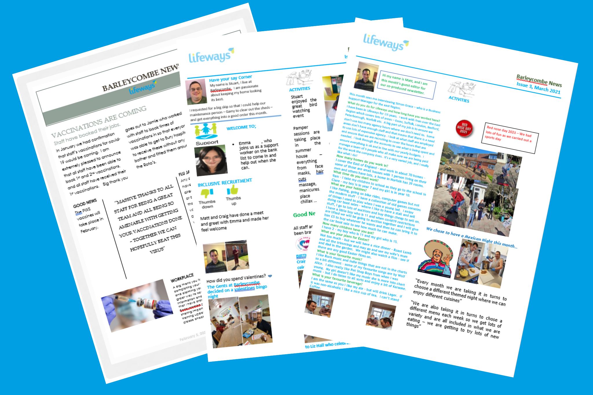 barlyecombe suffolk newsletter lifeways co-production